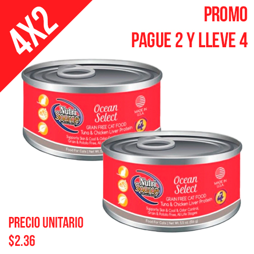 promocion-pague-2-lleve-4-nutrisource-ocean-selet-gf-formula-cat-food-lata